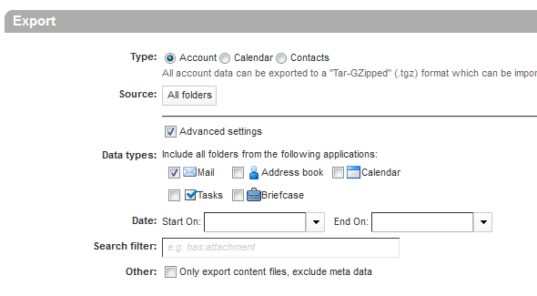 Solved: Exporting E-Mail from webmail to Outlook - TELUS