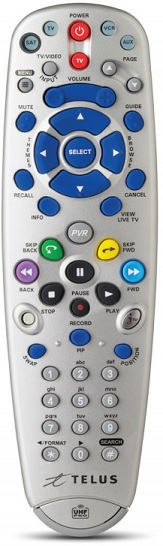 How To Program Pvr Remote For Tv Telus Neighbourhood