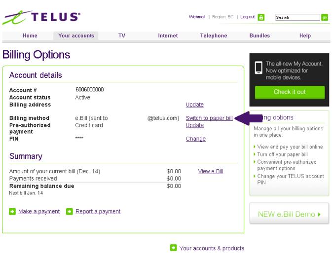 Cancel Telus Home Services