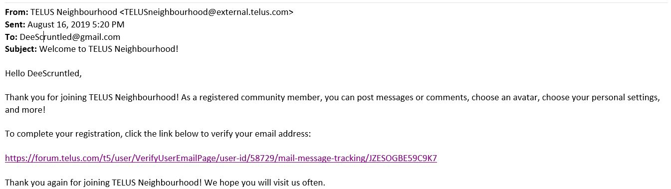 Solved: Webmail/Telus email is currently down  - TELUS